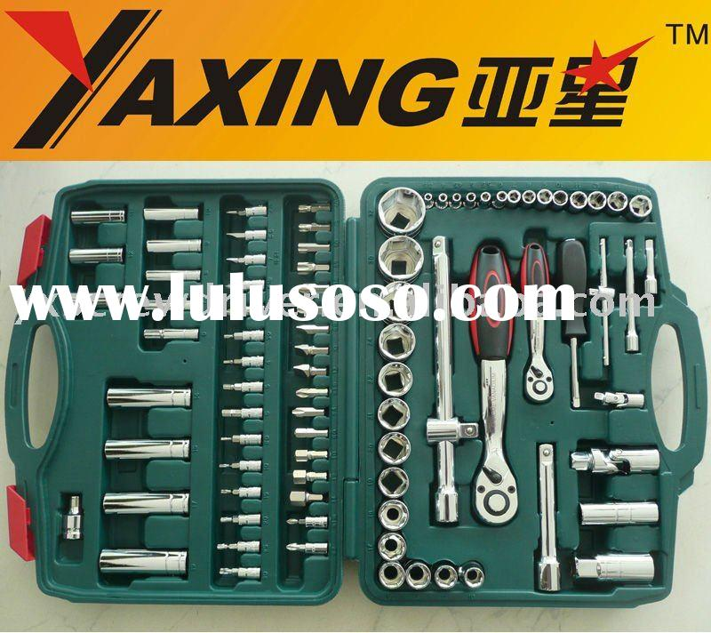 "86pcs 1/4 DR and 1/2"" DR industrial socket set"