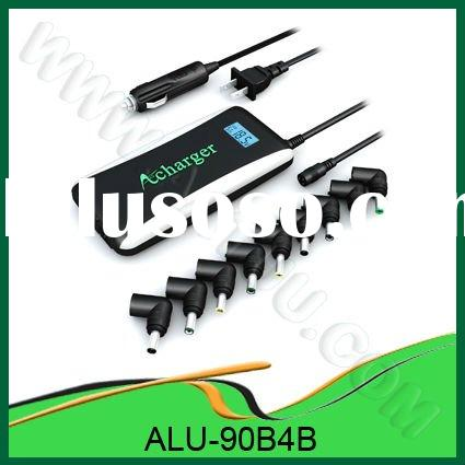 90W Laptop Adaptor Ultral slim with LCD Show