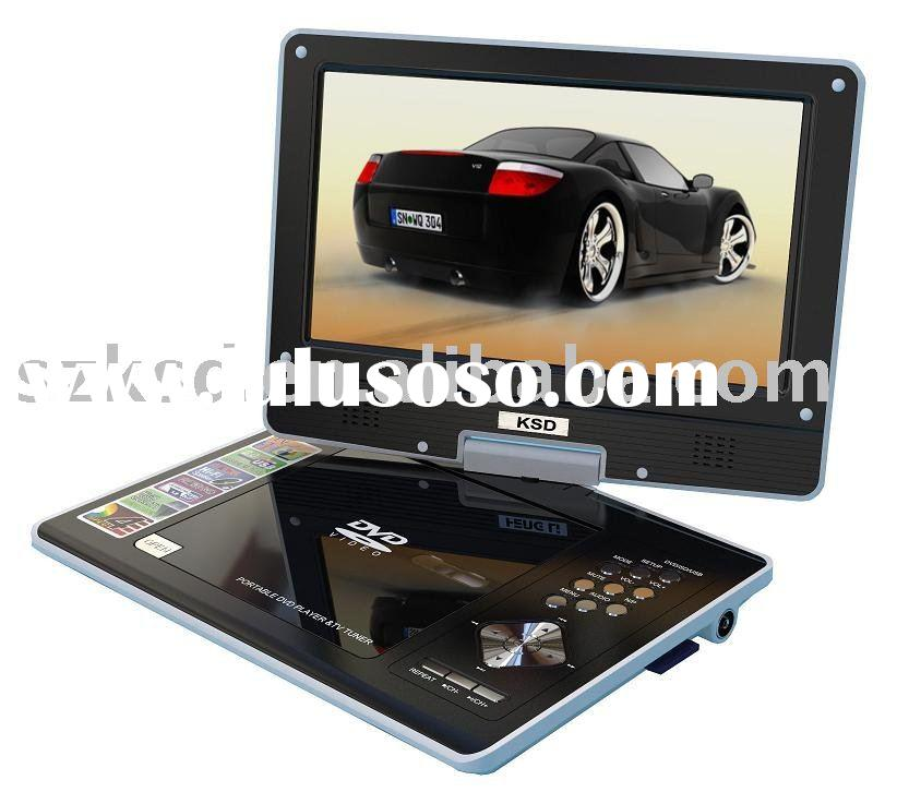 9.5 INCH PORTABLE DVD PLAYER WITH TV TUNER