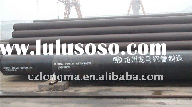 A333 Gr3 large diameter welded steel pipe