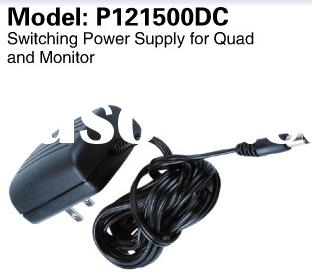 AC/DC Adaptor 50/1000/1500mA for cctv camera, DC12v power Supply
