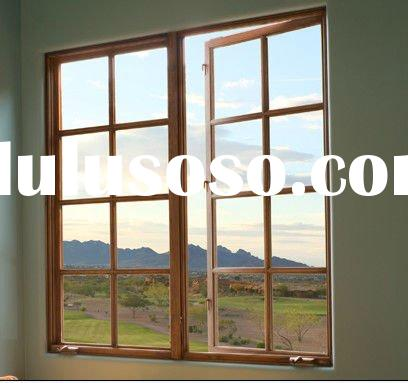 Aluminum Casement Window Grill Design