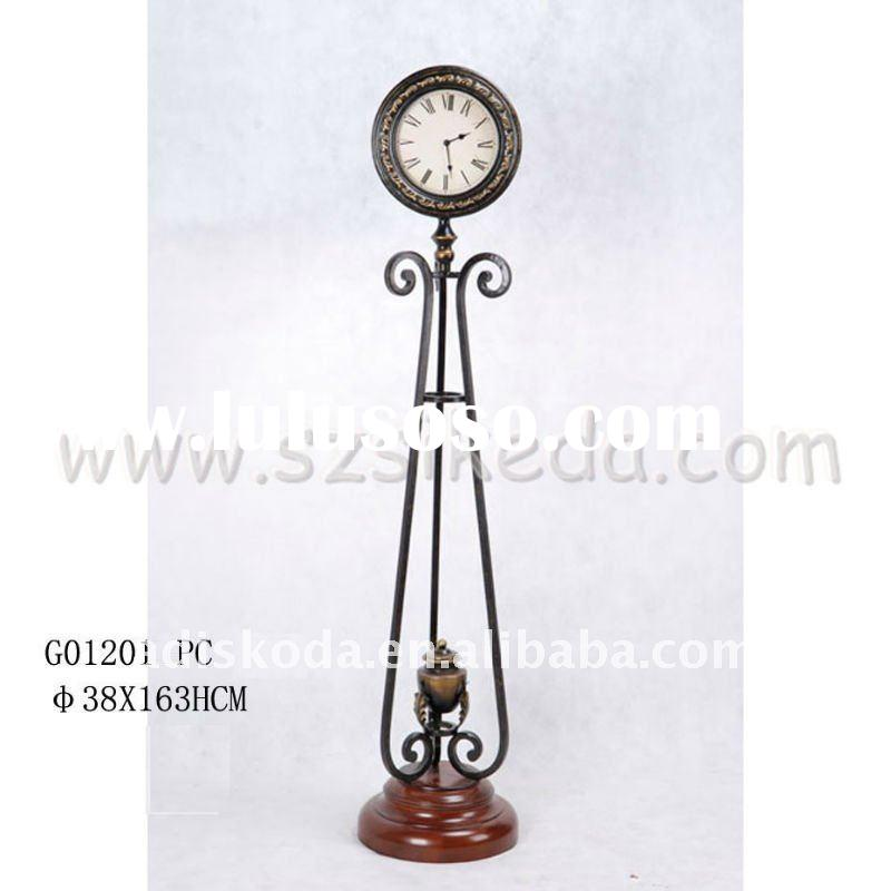 Floor Metal Clock Floor Metal Clock Manufacturers In Lulusoso Com