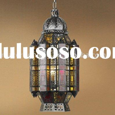 Arabian& Islamic style antique bronze finish brass pendant lamp/pendant light
