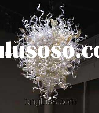Art Crystal Glass Chandelier Crafts