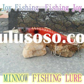 Asian best selling hard plastic minnow fishing lure
