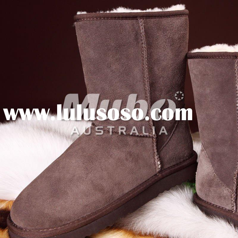 Australia HOT sales black fashion boots ladies boots