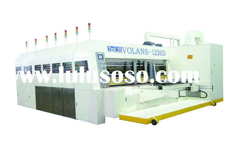 Automatic Flexo Printer Slotter and Rotary Die Cutter with Stacker