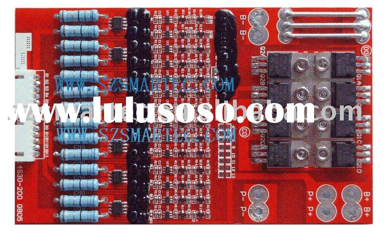 BMS Protection Circuit Module For 14S Li-ion/Li-polymer/LiFePO4 Battery Pack PCM-L14S30-200(14S)