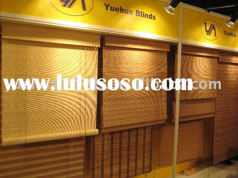 Bamboo Roll-up Blinds & Roman Shade