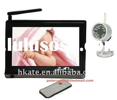 Big discount . 7 inch Video and audio baby monitor, night vision , audio monitoring ( wholesale and