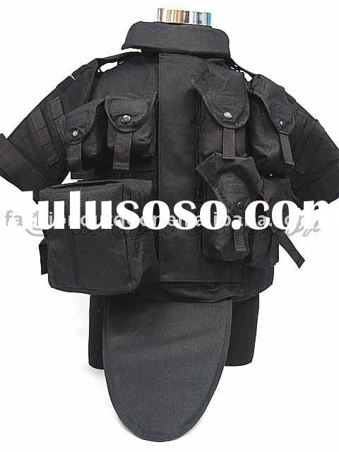 Black OTV Body Armor Carrier Tactical Vest