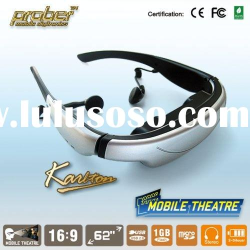 Brand New wireless video glasses/video goggles/video eyewear/mobile theatre/video player