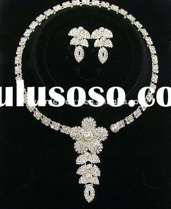 Bridal jewelry set ,wedding jewelly set,fashion necklace