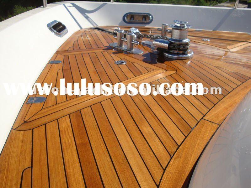 Burma Custom Teak Wood Decking / Teak Flooring Using on Boat and Yacht