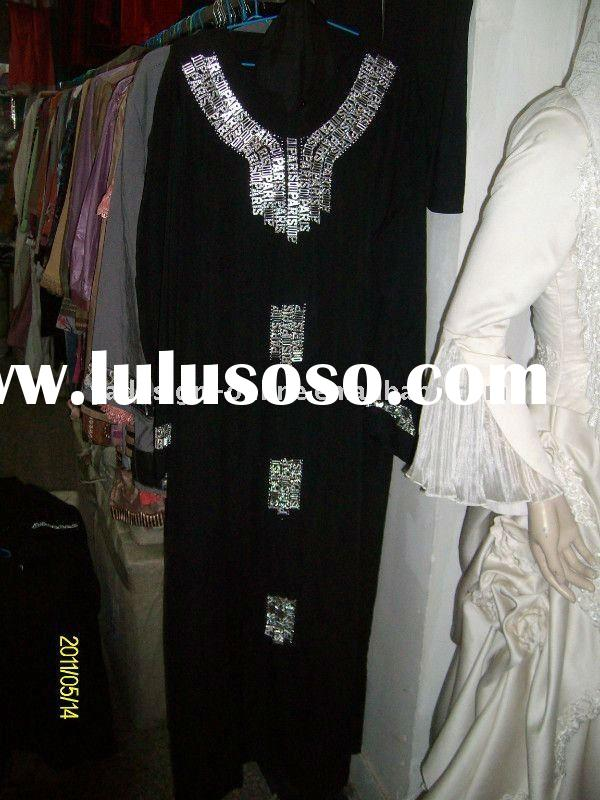 C186 Fashion muslim abaya dress;islamic clothing 2011