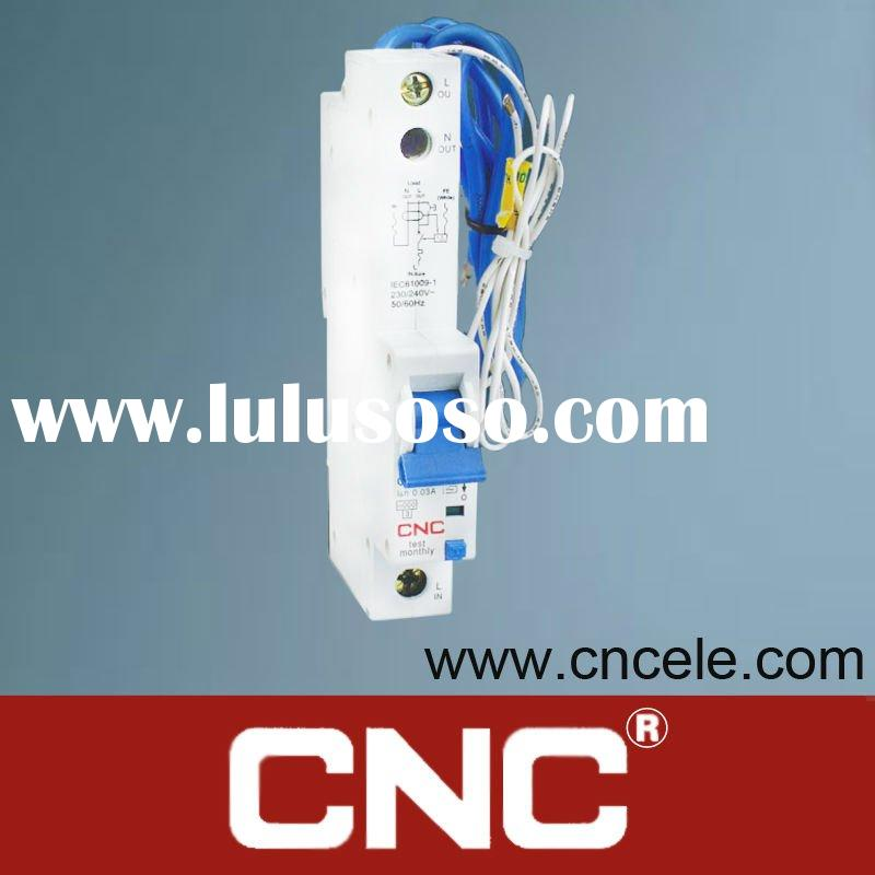 CNC RCBO with Over Current Protection YCL11 Residual Current Circuit Breaker