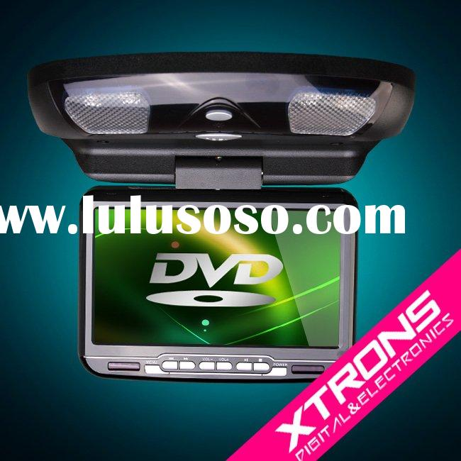 CR903: 9'' flip down car DVD /car Roof DVD/car monitor/ car DVD player/ car Video wi