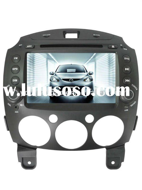 Car DVD GPS Player For Mazda 2 with GPS/IPOD/BT