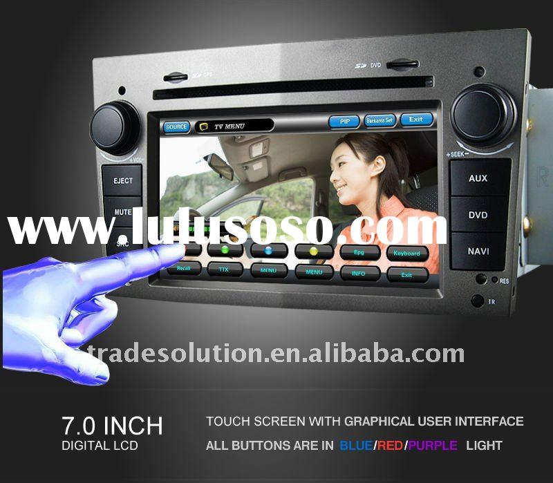 Car DVD Player with Built in GPS Bluetooth iphone ipod Dual Zone HD Screen for Opel Astra Vectra Zaf