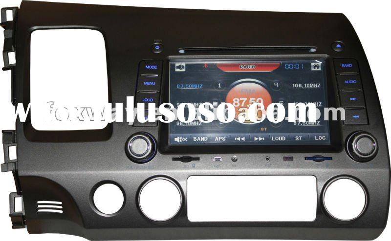 Car dvd gps with built-in ISDB-T for Civic 2009