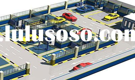 Car workshop layout, car workshop design, Car body shop design