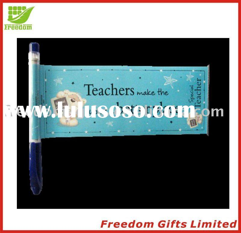 Cheapest Price Top Quality Logo Printed Banner/Flag Ball Pen