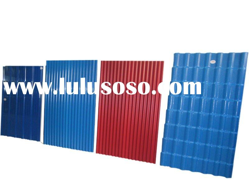 China PVC roofing sheet (Synthetic resin PVC roof tile, ASA coating)