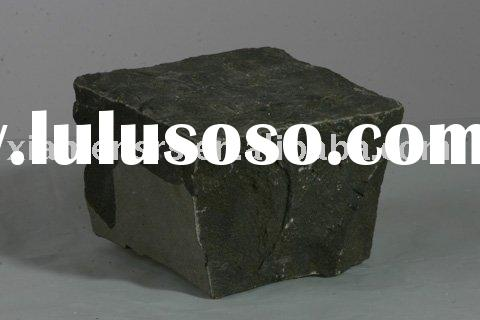 China cheap zhangpu black basalt paving stone