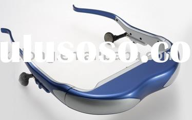 China factory for 50 inch mp4 video glasses/pmp video glasses/mp5 video glasses/video eyewear/baby m