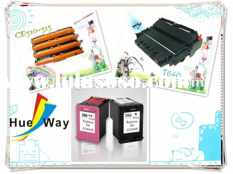 Compatible inkjet and laser toner cartridges factory in shenzhen China