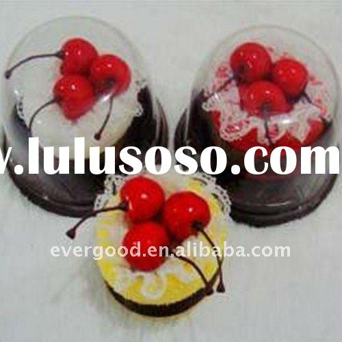 Compressed Cake Towel Favors With Artifical Cherries Decoration