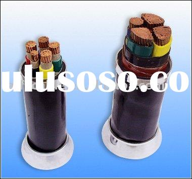 Copper conductor/XLPE insulated/STA/PVC Sheathed power cable