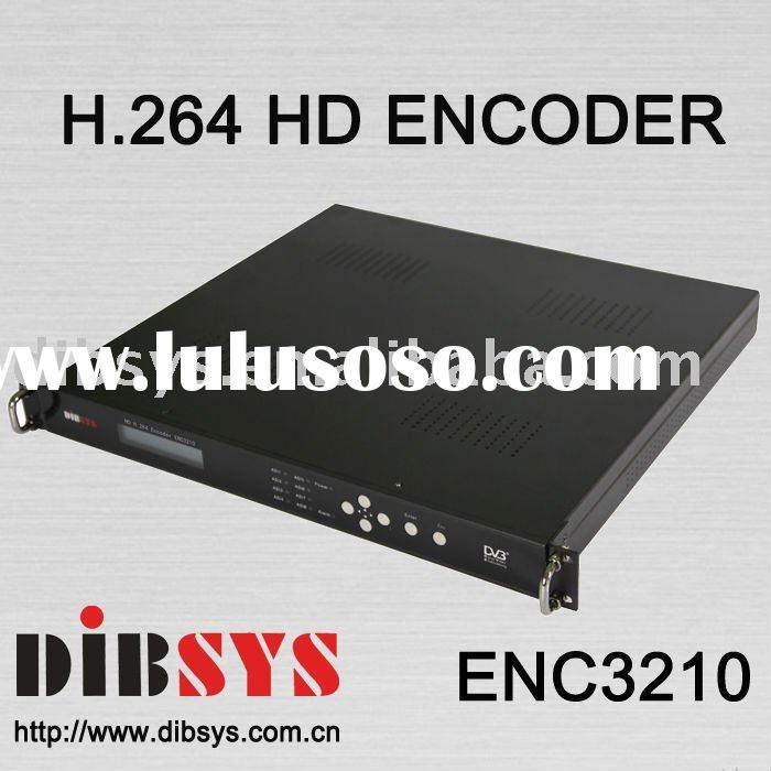 Cost Effective h.264 HD Encoder with Composite,YPbPr,HDMI,HD/SD-SDI,S-Video,ASI In and ASI+IP Out