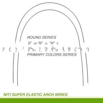 Dental product: dental orthodontic arch wire