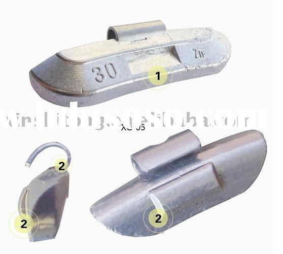 Die-casting Zinc wheel weight