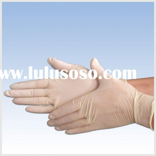 Disposable Latex Examination Gloves (Powdered)
