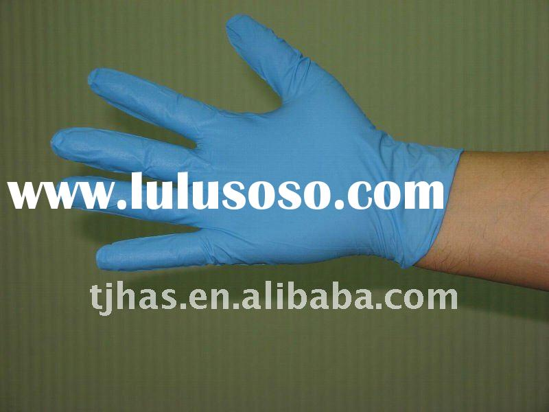 Disposable Nitrile Gloves powder free and powdered