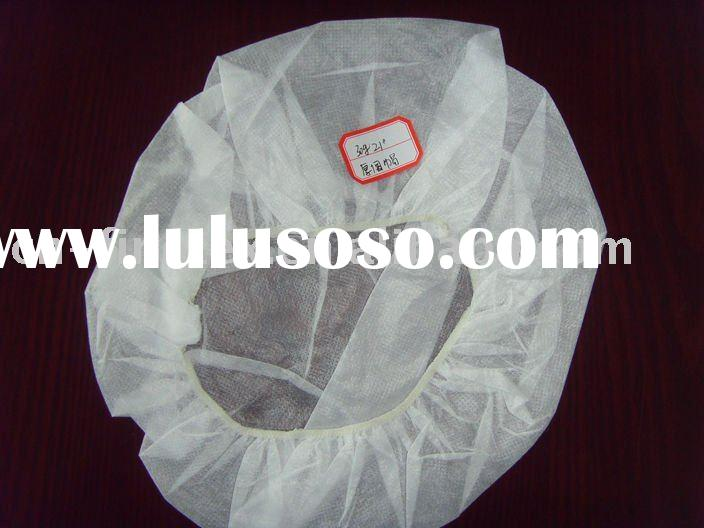 Disposable non-woven operating cap surgical cap thicken round cap