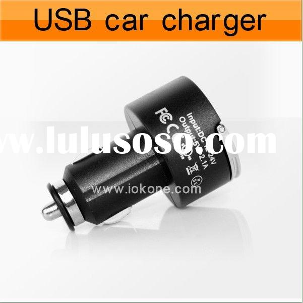 Dual USB Car charger for Ipad