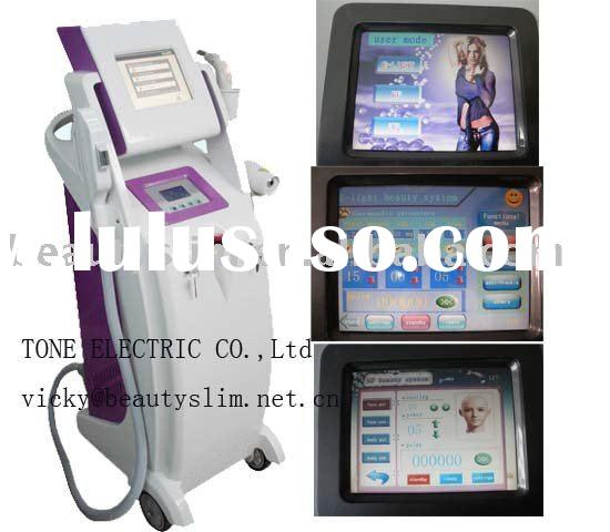 E light&IPL&RF&Laser hair removal wrinkle removal tattoo removal machine