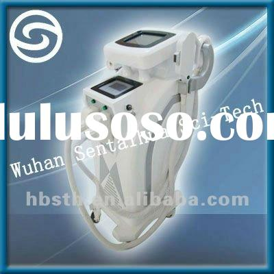 E-light IPL RF Nd:yag laser hair removal beauty machine