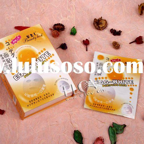 Egg-white Purifying skin care Facial mask