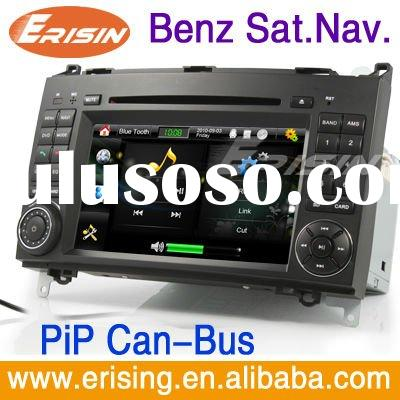 Erisin double din dvd car audio navigation system radio USB SD mercedes-benz
