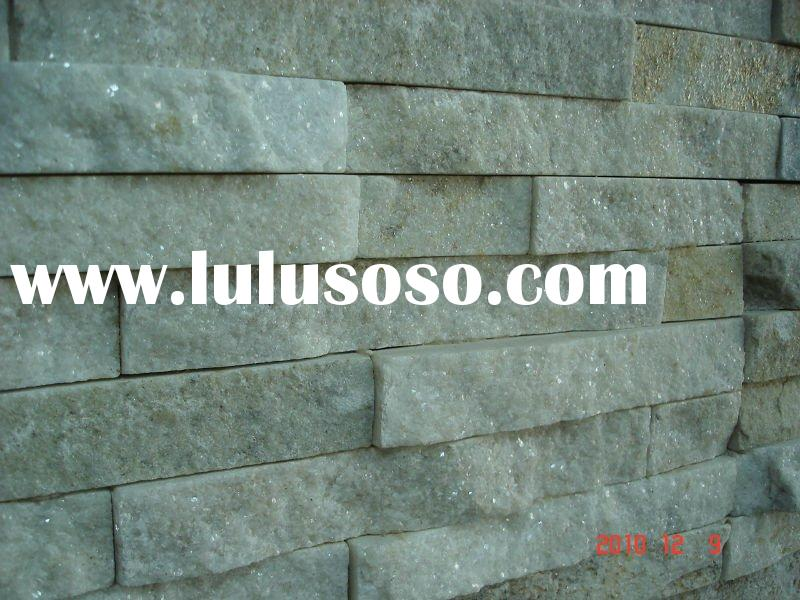 Exterior and interior white color decorative wall artificial slate culture stone