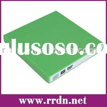 External USB 2.0 Optical Drive DVD-RW Burner Writer Drive for Acer Aspire One( green)