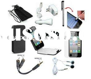 FOR APPLE IPHONE 4 4G CASE CHARGER BUNDLE NEW
