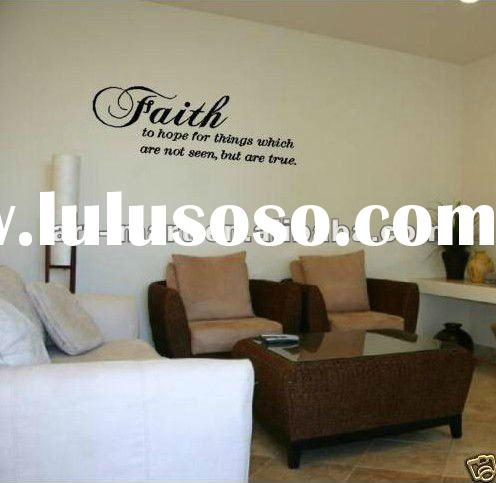 Faith To Hope - Vinyl Wall Decals Stickers Art Graphics Words Quotes