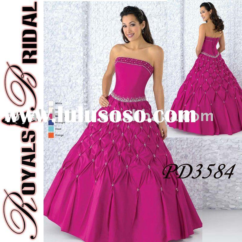 Fashion Ball Gown Evening Prom Dress