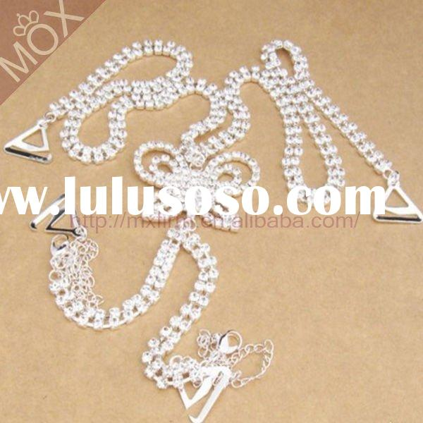 Fashion Butterlfy Diamante Bra Straps New Design 2012 By Alloy Jewelry Manufactures